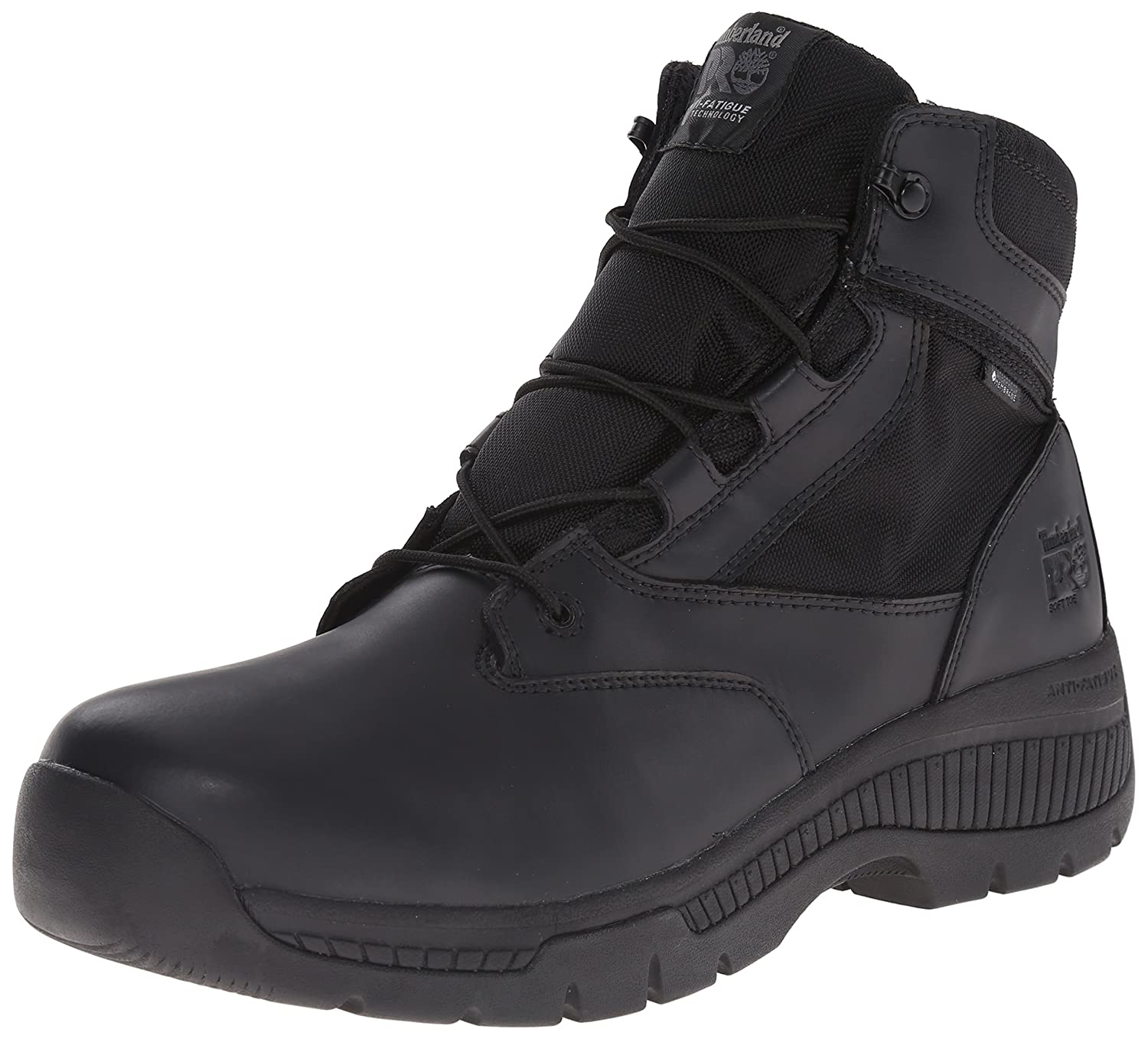 Timberland PRO メンズ B00RKM68HU 10.5 D(M) US|Black Smooth Leather Ballistic Nylon Black Smooth Leather Ballistic Nylon 10.5 D(M) US
