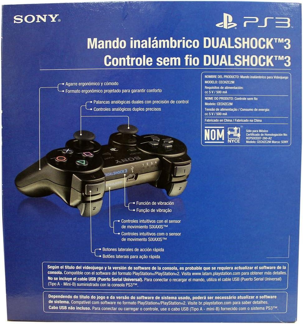Amazon.com: PlayStation 3 Black Dualshock Controller ...