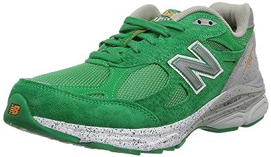 New Balance Women s W990V3 Boston Marathon-W Green Grey 7.5 ... f2a631b423
