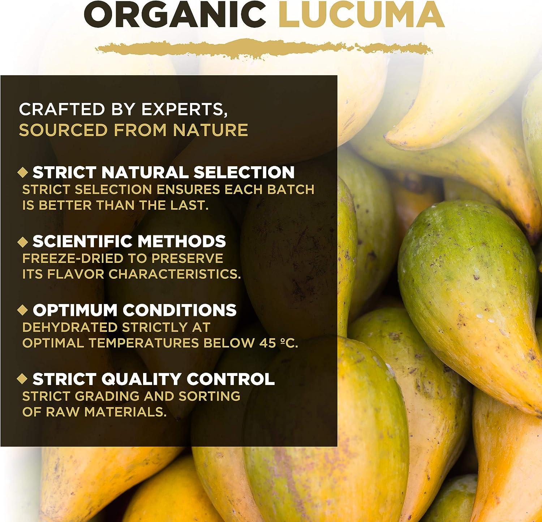 Polvo Orgánico De Lúcuma (500g),MySuperFoods,Fruto proveniente de Perú con un dulce sabor natural, Alto contenido de proteína, calcio y fosforo, ...