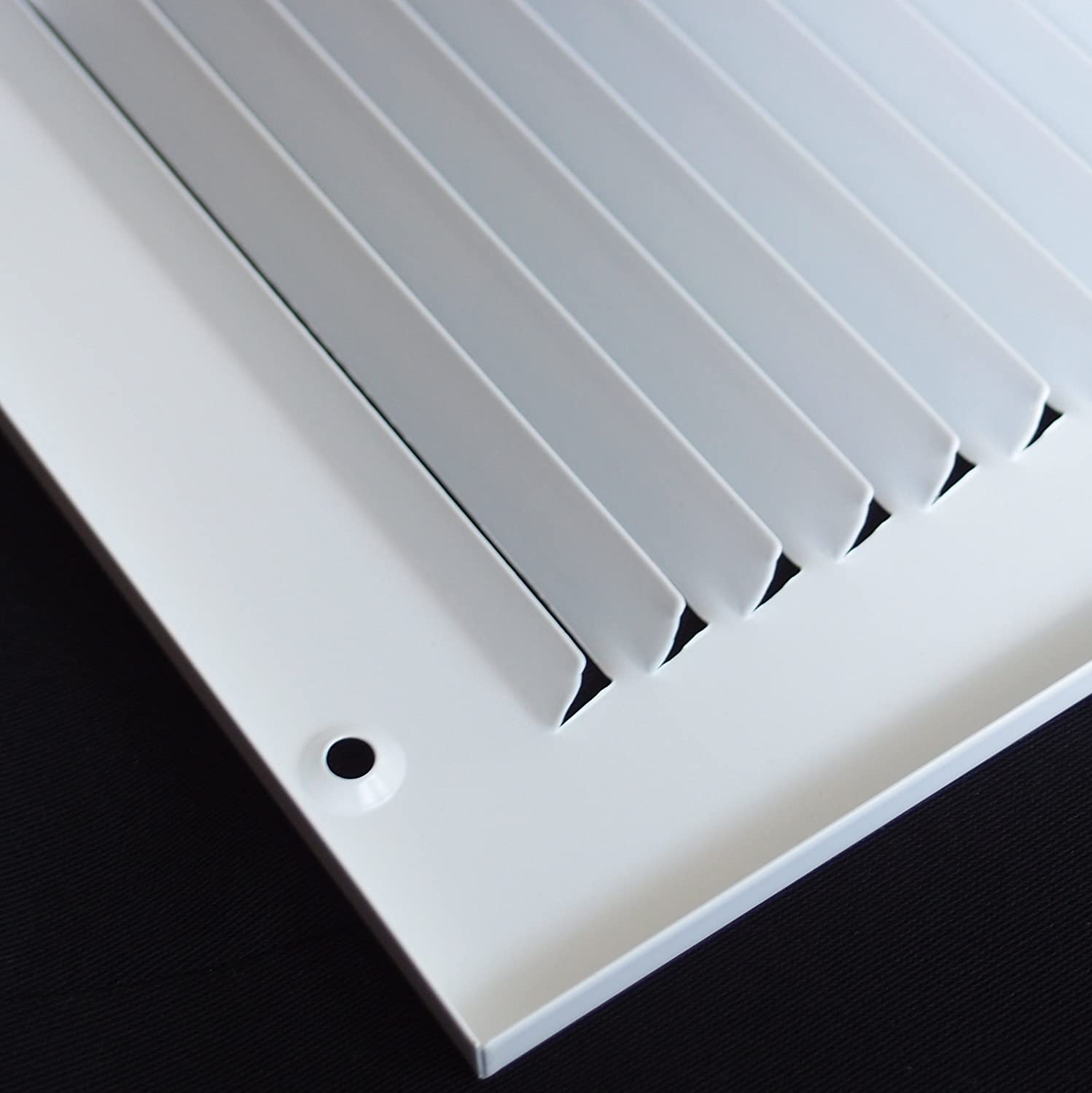Outer Dimensions: 13.75w X 21.75h Sidewall and Ceiling 12w X 20h Steel Return Air Grilles HVAC Duct Cover White