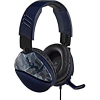 Turtle Beach Recon 70 Blue Camo Gaming Headset - PS4, Xbox One, Nintendo Switch and PC