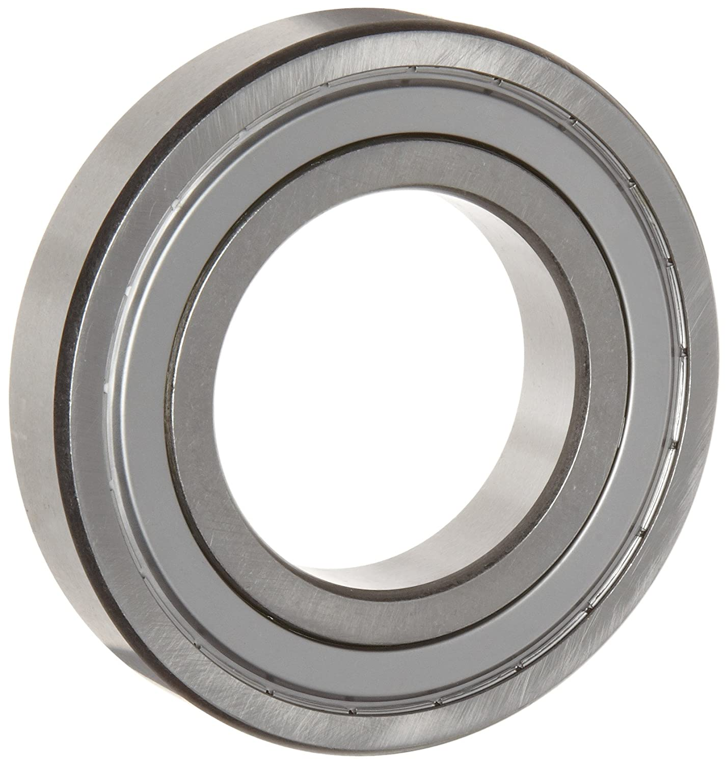WJB 6205-16-ZZ Deep Groove Ball Bearing, Double Sheilded, Metric, 25.4mm ID, 52mm OD, 15mm Width, 3150lbf Dynamic Load Capacity, 1770lbf Static Load Capacity