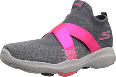 Skechers Women's Go Walk Revolution Ultra Bolt Ankle High Walking Shoe