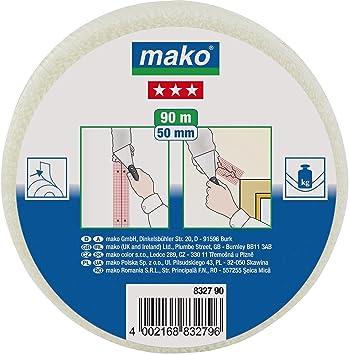 Mako Glasfaser Gitterband Weiss Ca 50mm X 90m Amazon De Baumarkt