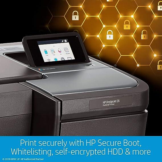 HP Designjet Z6 Impresora de Gran Formato Color 2400 x 1200 dpi ...