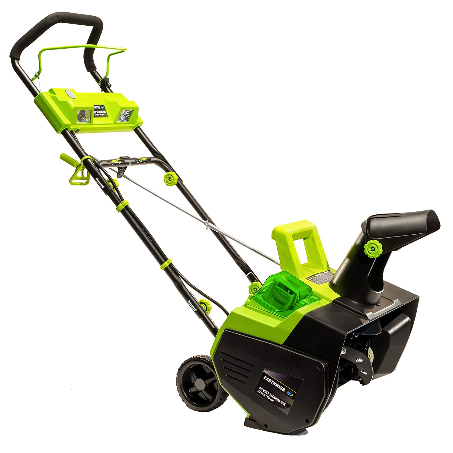 earthwise cordless snow thrower review