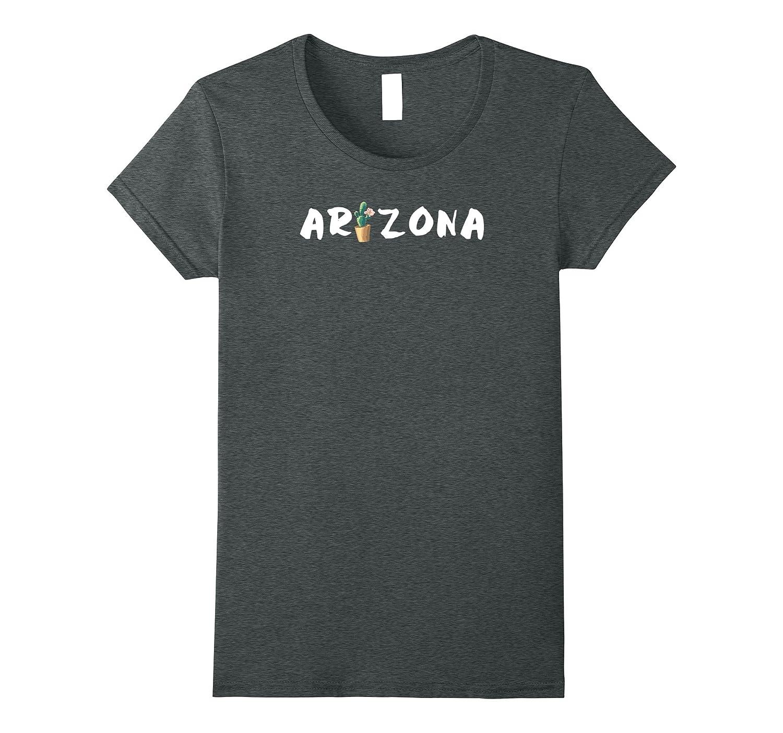 Cute Floral Cactus – Arizona T-Shirt