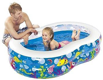 Attractive Jilong Figure 8 Ocean Pool 175x109x46 Cm Kinderpool Planschbecken Schwimmbecken  Kinder Schwimmbad Für Garten Und Terasse