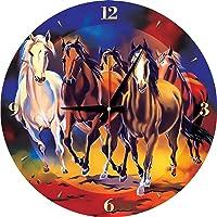 Art Puzzle 570 Parça Yılkı Atları Saat Puzle