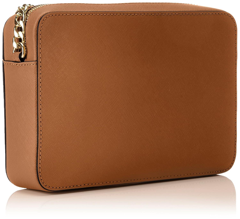 10a61d319b8b Michael Kors Women s Jet Set Crossbody Leather Bag - Acorn  Handbags   Amazon.com