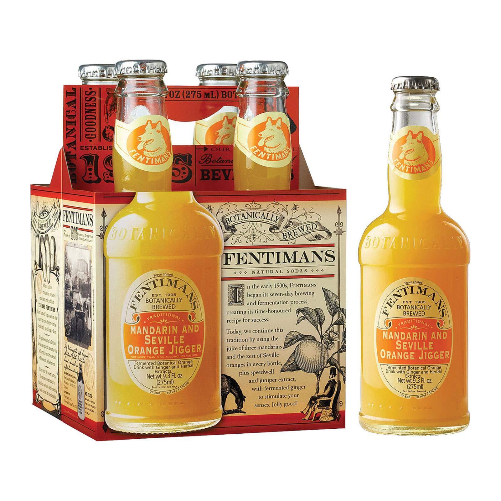 Fentimans Orange Drink, Mandarin and Seville Orange Jigger, Pack of 6
