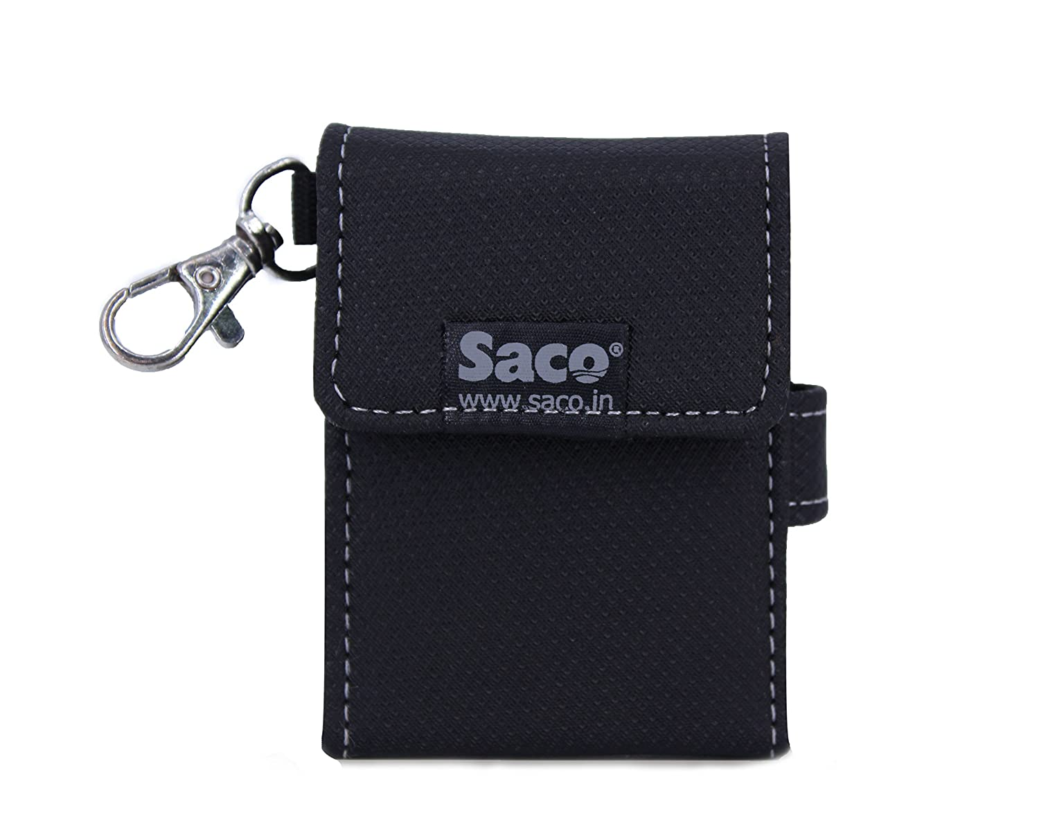 Saco T5 250GB Portable Solid State Drive Plug and Play Case Pouch.