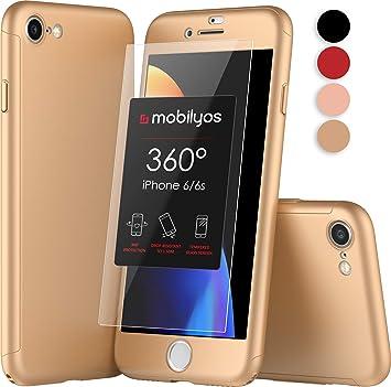 5f4e462cc4f Mobilyos Funda iPhone 6s 360 Grados Completa: Amazon.es: Electrónica