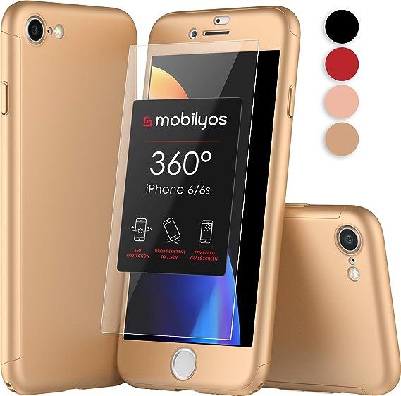 ed5cdffe793 Mobilyos Funda iPhone 6s 360 Grados Completa: Amazon.es: Electrónica