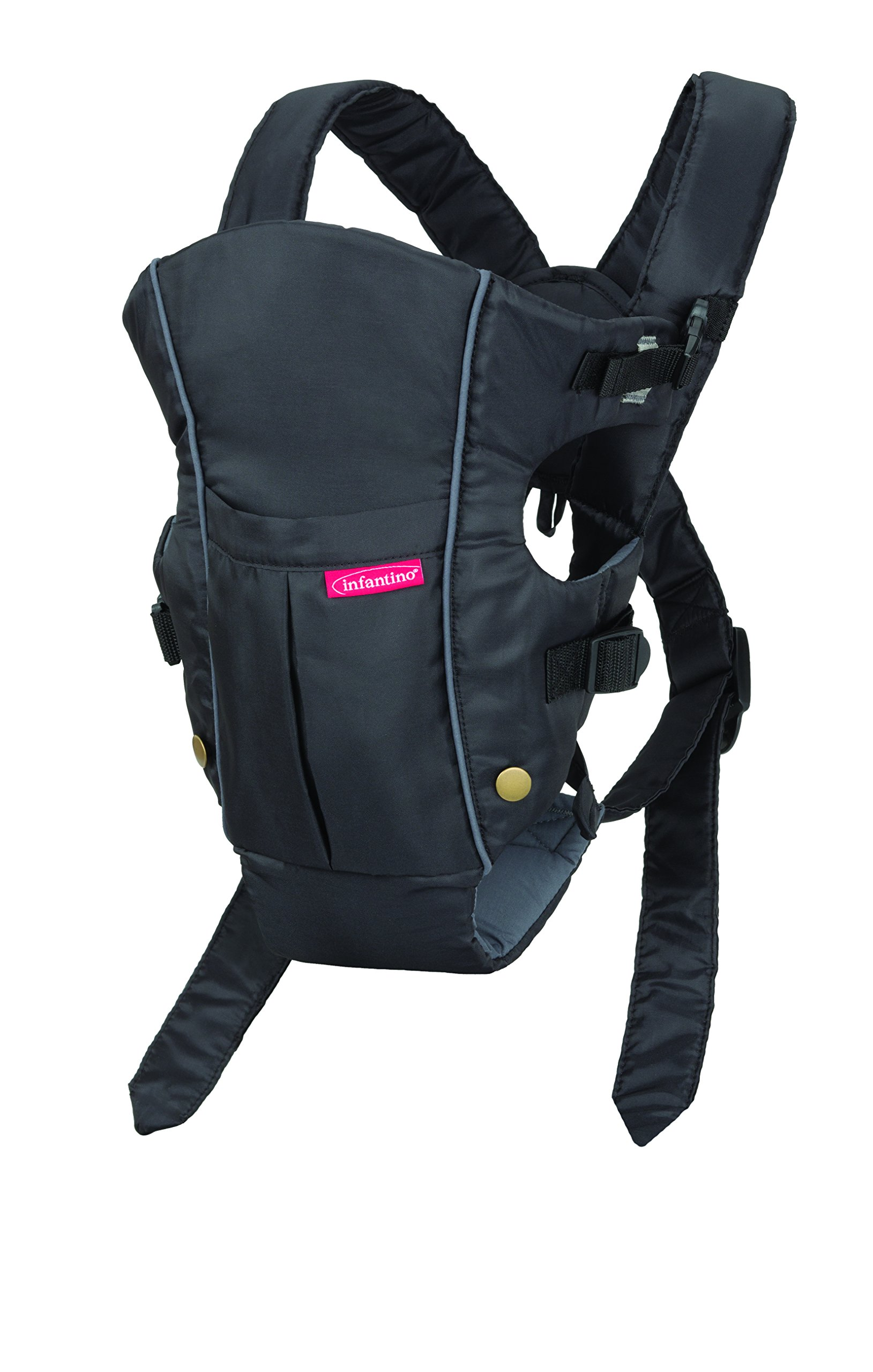 Details about Baby carrier . Infantino Swift Classic Soft Carrier .Black