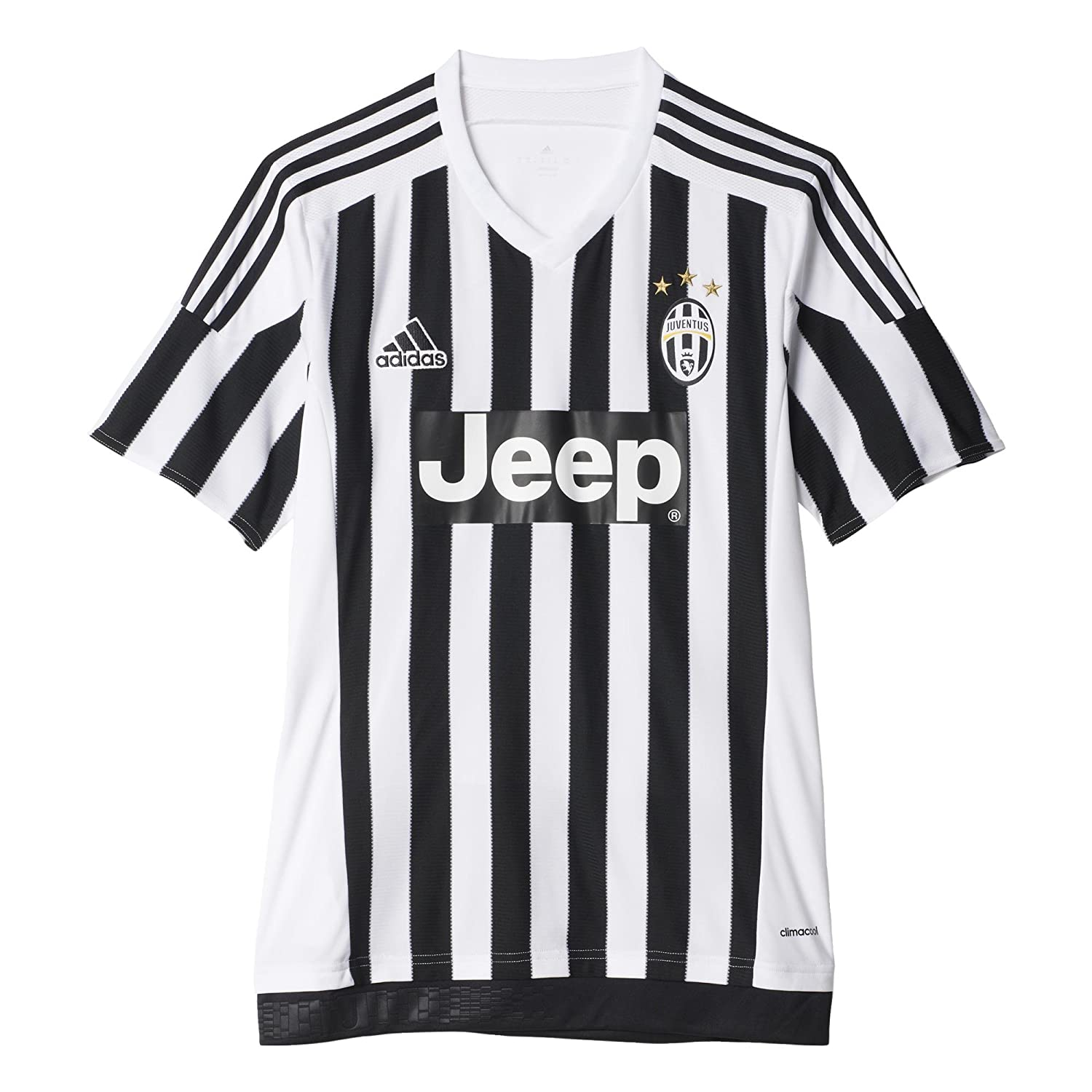 new style d78e5 45b3f adidas Juventus Home Jersey-White