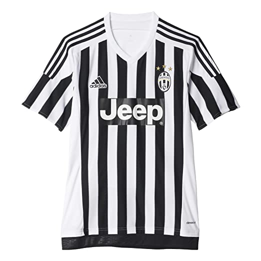 24aa29cc99e Amazon.com   adidas Juventus Home Jersey-White (S)   Clothing