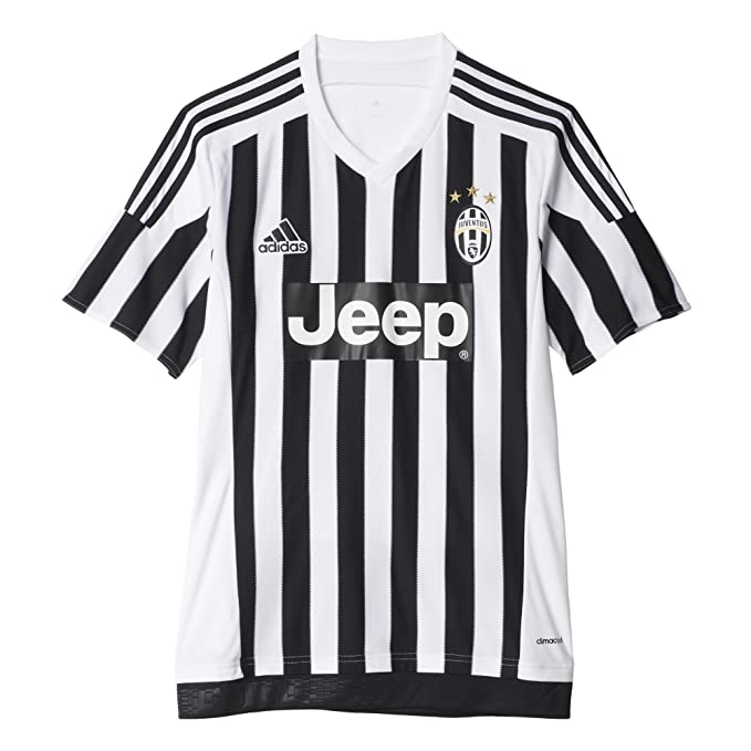 75cdb7f79 Amazon.com : adidas Juventus Home Jersey-White : Clothing