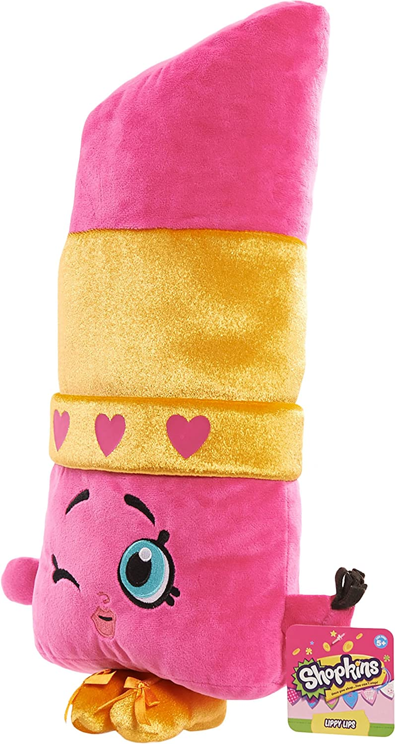 Shopkins Lippy Lips Cuddle Pillow Plush