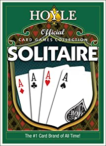 Amazon Com Hoyle Official Card Games Solitaire For Pc 50 Fun Game