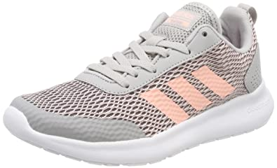 competitive price 338f0 2c451 adidas Womens Cloudfoam Element Race Training Shoes, Grey (Gretwo Hazcor  000), ...