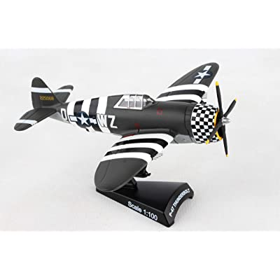 Daron Postage Stamp PS5359-3 Republic P-47 Thunderbolt Snafu 1: 100 Scale Diecast: Toys & Games