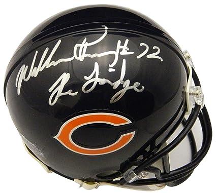 574b8bc769b Jerseys William Perry Chicago Bears Signed Autograph Blue Fridge Jersey JSA  COA BM Authentics