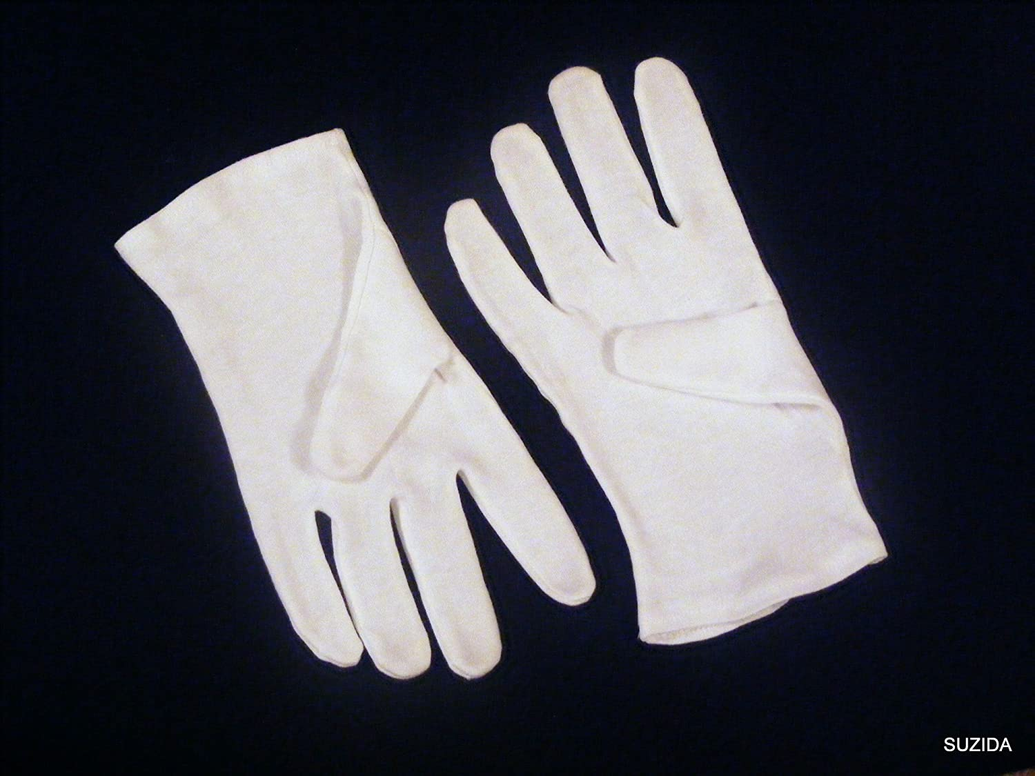 Black cotton gloves for eczema - Ladies Soft White 100 Cotton Gloves Ideal For Moisturising Size 8 8 5 X 2 Pairs Amazon Co Uk Kitchen Home