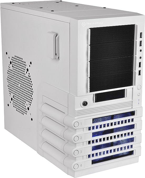 Thermaltake Level 10 GTS Snow Edition Midi-Tower Blanco - Caja de Ordenador (Midi-Tower, PC, SECC, Blanco, ATX,Micro ATX, Juego): Amazon.es: Informática