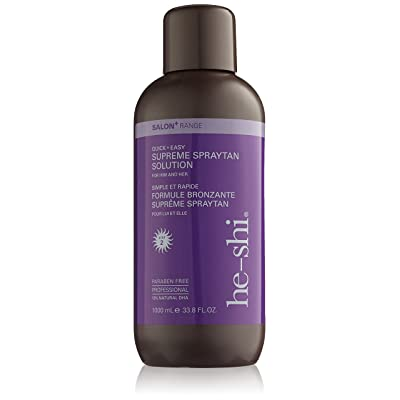 Él-Shi Suprema de bronceado 12 Percent Solution DHA 1000ml