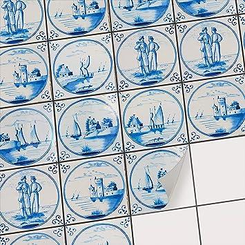 Fliesensticker Mosaikfliesen Fur Kuche U Bad Deko Selbstklebende