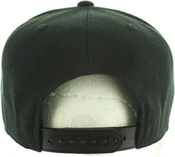 Pot Leaf Hat Collection Premium Puff 3D Embroidery - Snapback Hat Variations - USA.