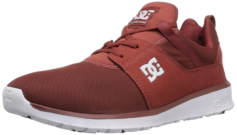 DC Men's Heathrow Casual Skate Shoe B01H4XBMJI 10.5 D(M) US|Burnt Henna/White