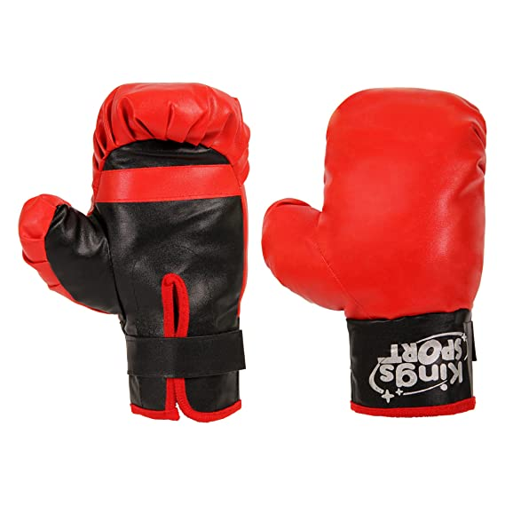 POWRX - Punching ball y guantes de boxeo para niño: Amazon ...