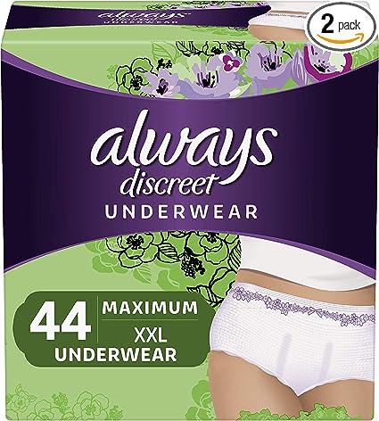 almohadillas de 52 Siempre Dailies Panties grande