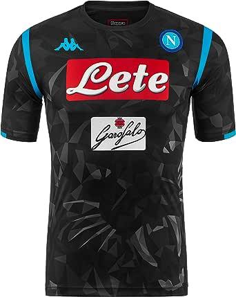 SSC Napoli Camiseta de juego visitante réplica: Amazon.es: Ropa y ...