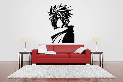 Amazon.com: Wall Sticker Decal Naruto Cartoon Ninja Samurai ...