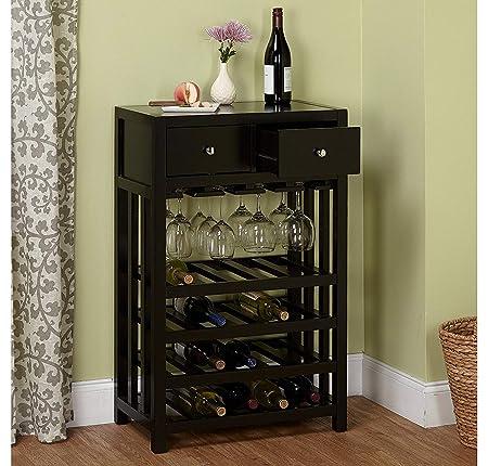 T G furniture Wood Bar Cabinet Solid Sheesham Furniture for Home, Living Room, Dark Oak Finish, Dimensions (L x B x H) 22 X 14 X 38 inches