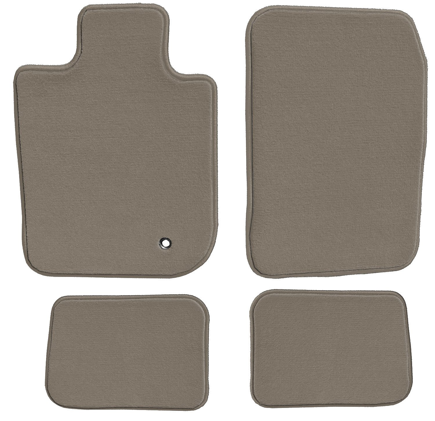 GGBAILEY D51488-S1A-BG-LP Custom Fit Car Mats for 2017 Ford Fusion Beige Loop Driver Passenger /& Rear Floor
