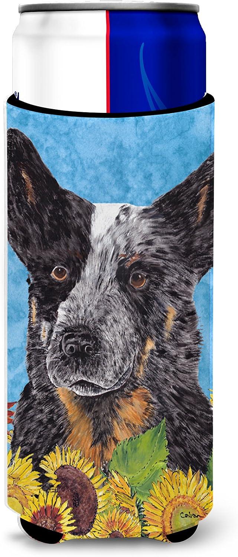 Caroline's Treasures SC9055MUK Australian Cattle Dog Ultra Beverage Insulators for slim cans, Slim Can, multicolor