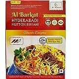 AL BARKAT Ready to Eat Hyderabadi Mutton Biryani 300 g- Pack of 2 (2 X 300g)