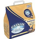 Litière pour chat ultra agglomérante Catsan - Ultra absorbante - En granulés d'argile - Lot de 3