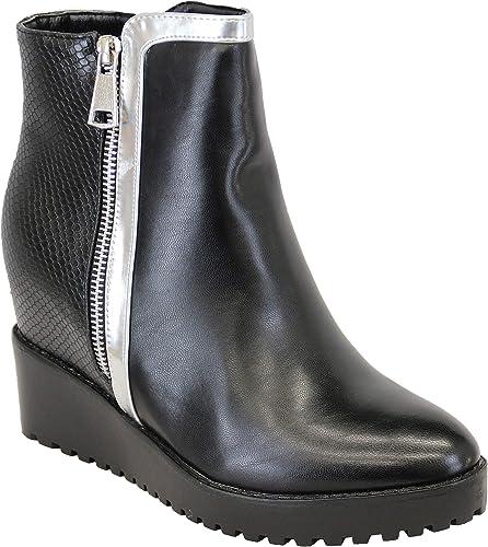 Ladies' Kelsi Boots AM15421 Black UK 5