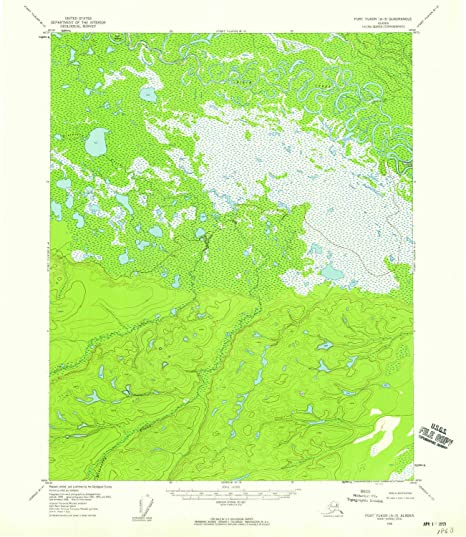 Fort Yukon Alaska Map.Amazon Com Yellowmaps Fort Yukon A 3 Ak Topo Map 1 63360 Scale