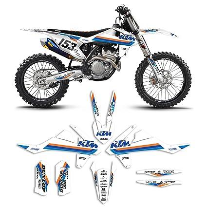 Amazoncom KTM SXSXF ICON Motocross Graphics - Decal graphics for dirt bikes