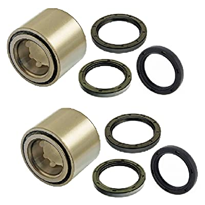 8USAUTO Pair Rear Left and Right Wheel Bearing & Seal fit 1993-2007 Subaru Impreza (RS, WRX, Outback Sport): Automotive