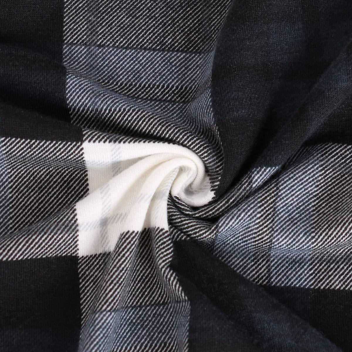 Anna Smith para Mujer con Cuello en V Cuello en V Casual Pullover T/única Blusas