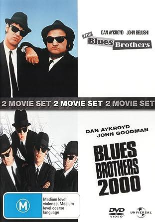 Amazon Com The Blues Brothers Blues Brothers 2000 Non Usa Format Pal Region 4 Import Australia Cab Calloway James Brown Dan Aykroyd Movies Tv