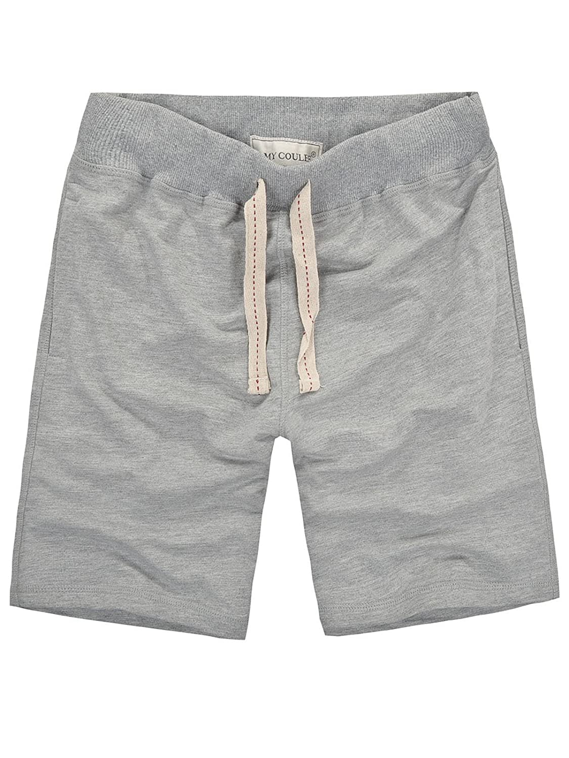 Amy Coulee Men's Casual Shorts (XL, gray)
